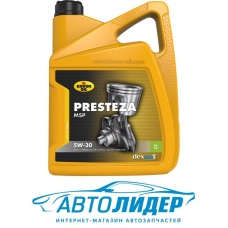 Моторное масло KROON OIL PRESTEZA MSP 5W-30 5л