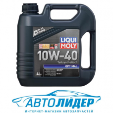Моторное масло LIQUI MOLY Optimal 10W-40 4л