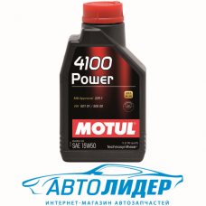 Моторное масло Motul 4100 POWER SAE 15W-50 1л