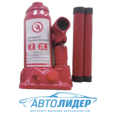 Домкрат одноштоковый Intertool GT0021, 2т, 148-278 мм