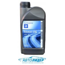 Моторное масло GM Motor Oil Semi Synthetic 10W-40 (1л)