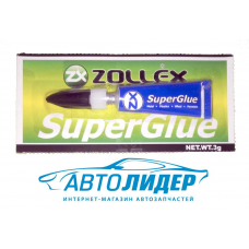 Клей Zollex SuperGlue (3 г)