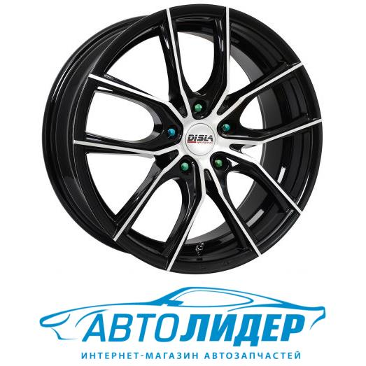 Диск Disla Spider Black Diamond (PCD 5x112, 7.0x16, ET 45 мм, DIA 66.6)