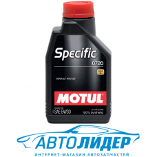 Моторное масло Motul SPECIFIC 0720 SAE 5W-30 1л