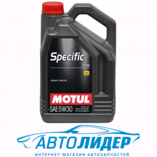Моторное масло Motul SPECIFIC 0720 SAE 5W-30 5л