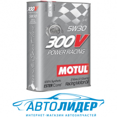 Моторное масло Motul 300V POWER RACING SAE 5W-30 2л