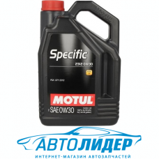 Моторное масло Motul SPECIFIC 2312 SAE 0W-30 5л