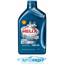 Моторное масло Shell Helix HX7 Diesel 10W-40 (1л)