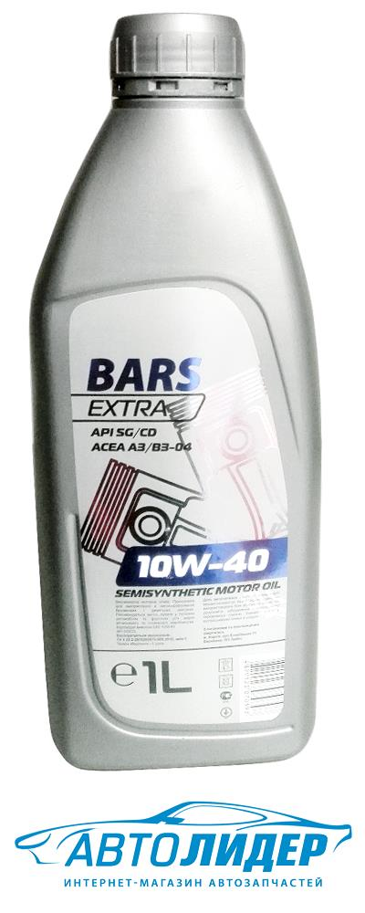 Моторное масло Bars Extra 10W-40 (1л)