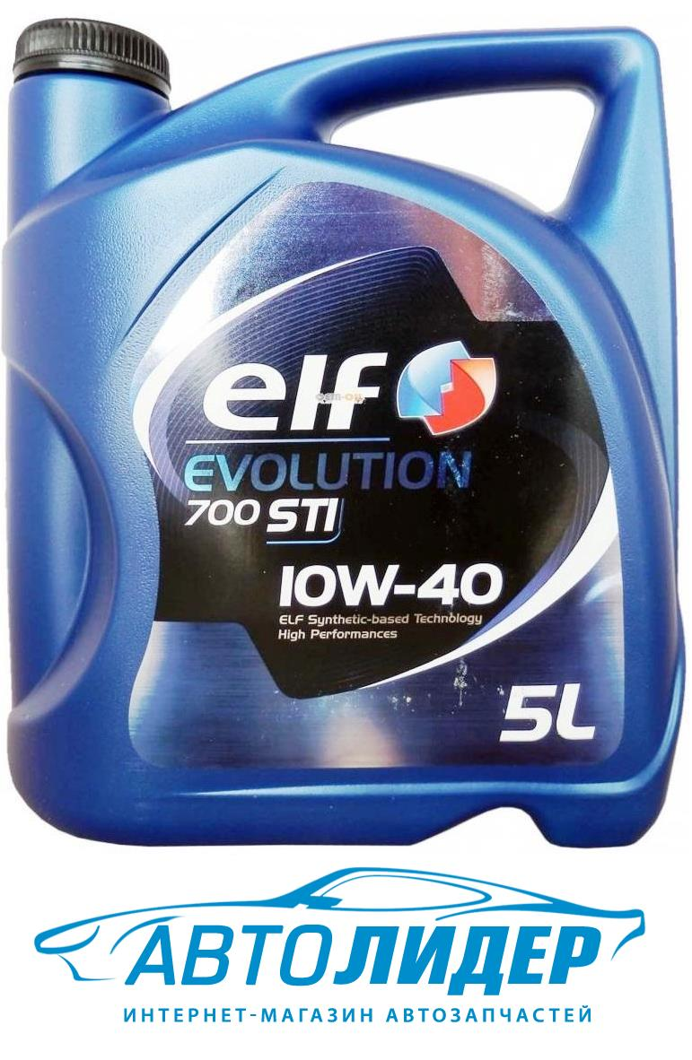 Моторное масло Elf Evolution 700 STI 10W-40 (5л)